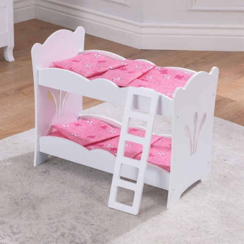 KidKraft Lil' Doll Bunk Bed Perspective: top