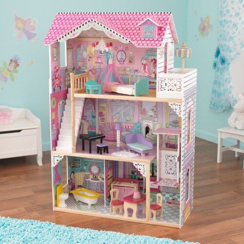 KidKraft Annabelle Dollhouse Perspective: top