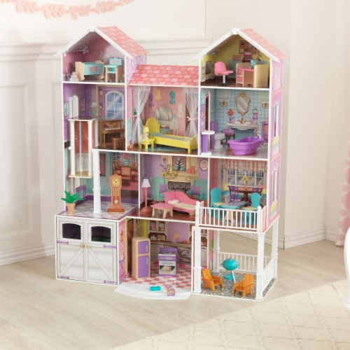 KidKraft Country Estate Dollhouse Perspective: top