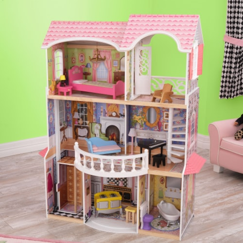 KidKraft Magnolia Mansion Dollhouse Perspective: top