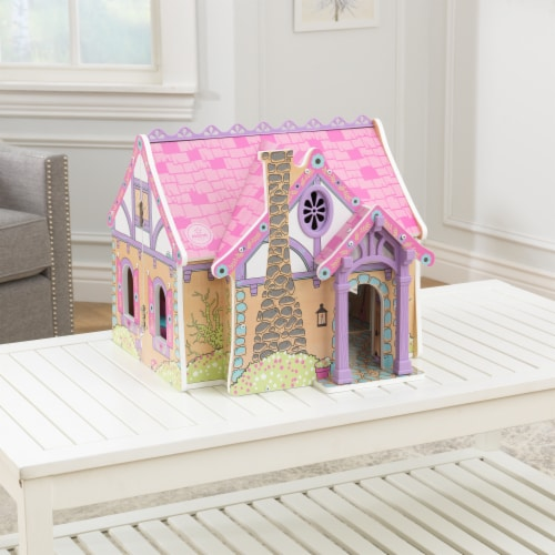 KidKraft Enchanted Forest Dollhouse Perspective: top