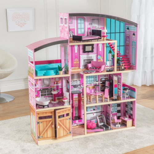 KidKraft Shimmer Mansion Perspective: top