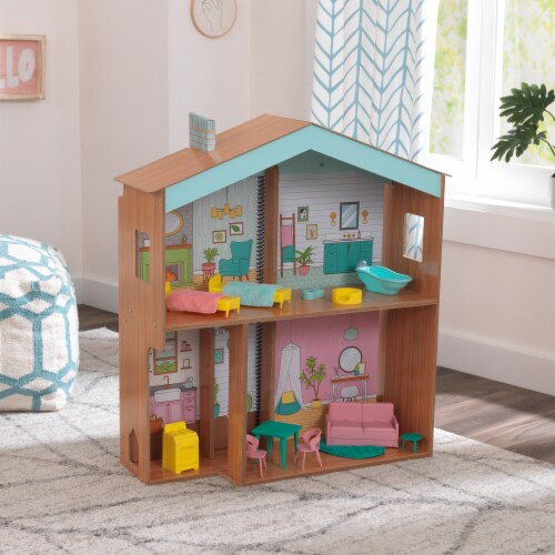 KidKraft Designed by Me™:Color Decor Dollhouse Perspective: top