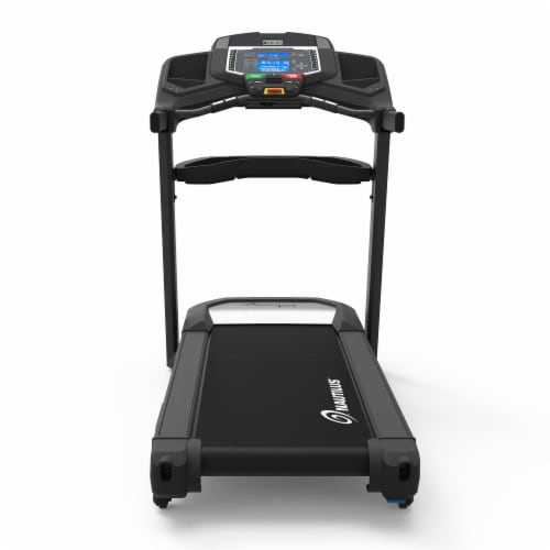 Nautilus T618 Performance Tracking Home Workout Training Treadmill Machine Perspective: top