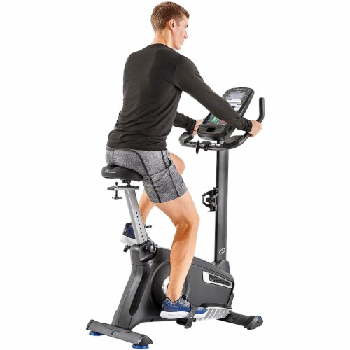 Nautilus U616 Performance Series Upright Home Gym Workout Cardio Exercise Bike Perspective: top