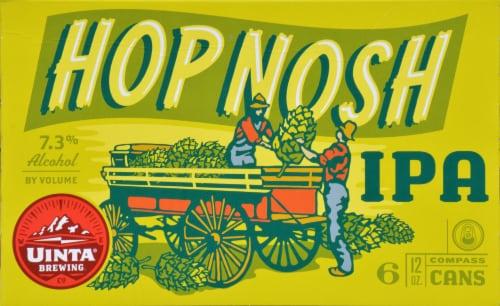 Uinta Brewing Hop Notch IPA Perspective: top
