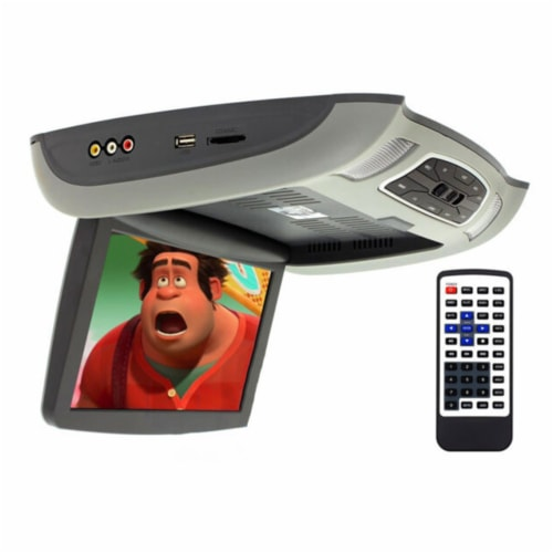 Epsilon Soundstream VCM-103DMH LCD 10.3 Inch Ceiling DVD Entertainment Mount Perspective: top