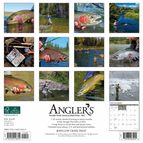 Angler's 2022 Wall Calendar Perspective: top