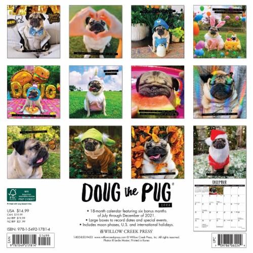 Doug the Pug 2022 Wall Calendar Perspective: top