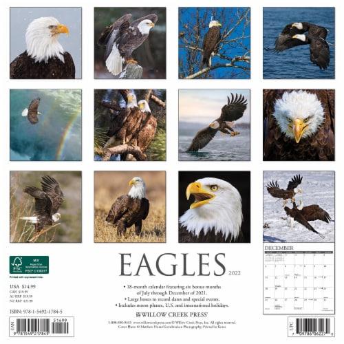 Eagles 2022 Wall Calendar Perspective: top