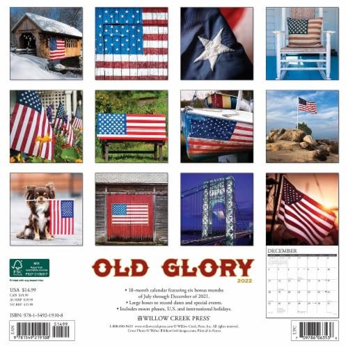 Old Glory 2022 Wall Calendar, Americana Perspective: top