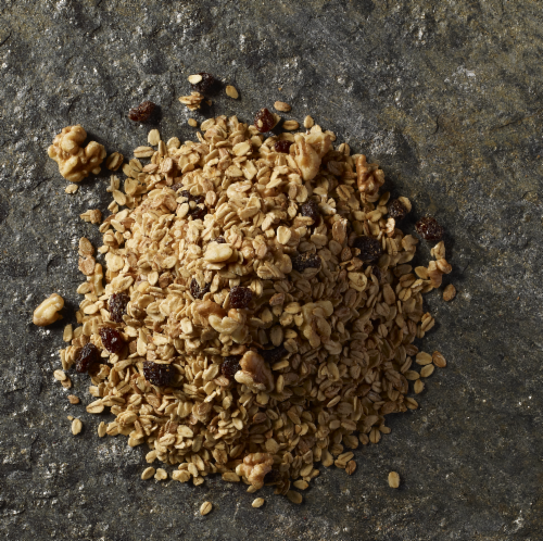 Grizzlies Brand Divinely Organic Granola Perspective: top