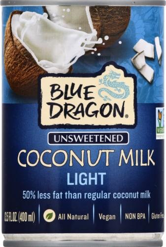 Blue Dragon Light Coconut Milk Perspective: top
