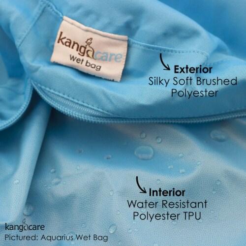 Kanga Care 3D Dimensional Seam Sealed Wet Bag - Lava Perspective: top