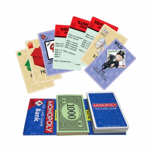 Winning Moves Games Monopoly: The Card Game Perspective: top
