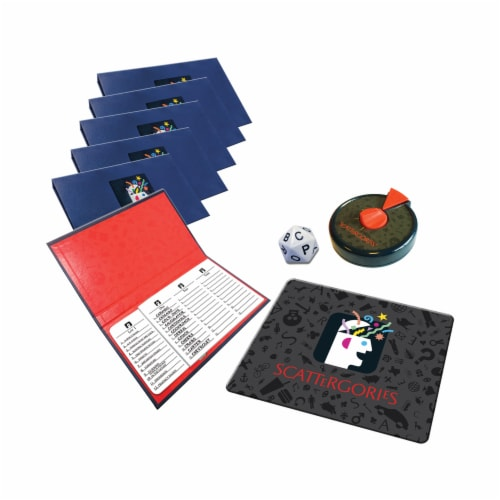 Winning Moves Games The Game of Scattergories 30th Anniversary Edition Board Game Perspective: top