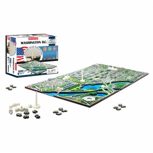4D Cityscape Washington DC USA Time Puzzle Perspective: top