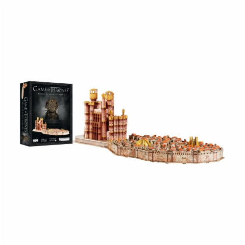 4D Cityscape Game of Thrones: Kings Landing Puzzle Perspective: top