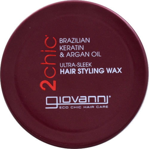 Giovanni Ultra Sleek Hairstyling Wax Perspective: top
