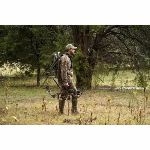Summit Openshot 81115 SD Self Climbing Treestand for Bow & Rifle Deer Hunting Perspective: top