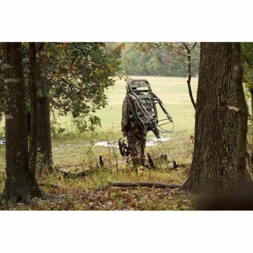 Summit Titan SD Self Climbing Portable Treestand Bow & Rifle Deer Hunting 81118 Perspective: top