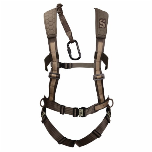 Pradco Summit Treestand Men's Pro Safety Harness 300-Lbs Max, Large | 83082 Perspective: top