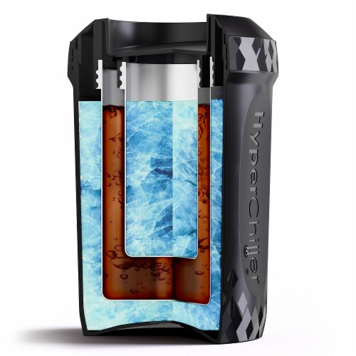 Elite by Maxi-Matic HyperChiller Coffee / Beverage Cooler Perspective: top