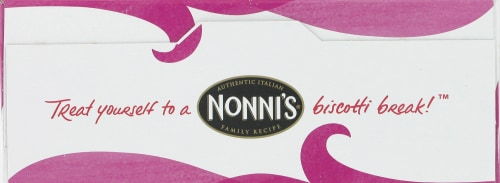 Nonni's Salted Caramel Biscotti Perspective: top