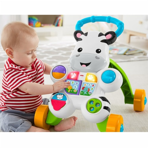 Fisher Price Learn with Me Zebra Walker Perspective: top