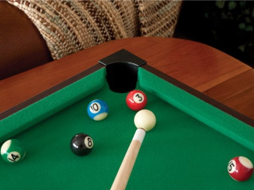 Mainstreet Classics Table Top Billiards Perspective: top