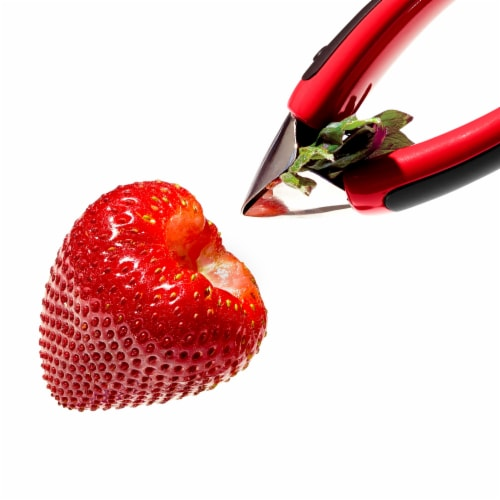 OXO Good Grips Strawberry Huller Perspective: top