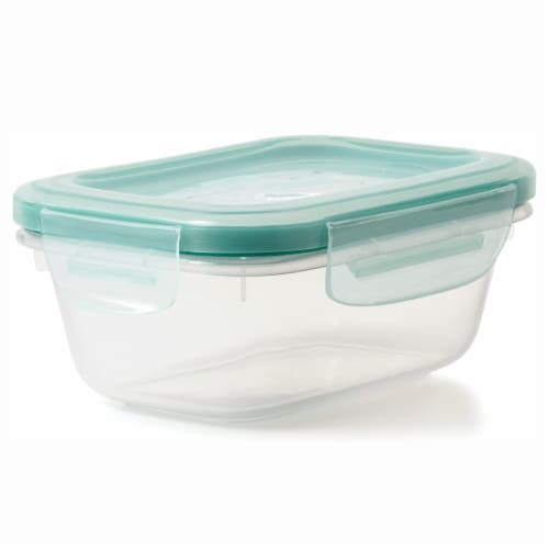 OXO Good Grips 30 Piece Food Storage Container Set with Matching Lids, Clear Perspective: top