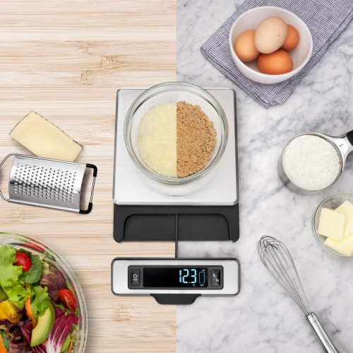OXO Stainless Steel Scale Perspective: top