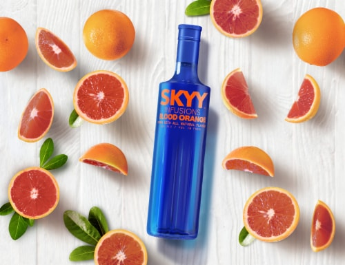 Skyy® Infusions Blood Orange Vodka Perspective: top