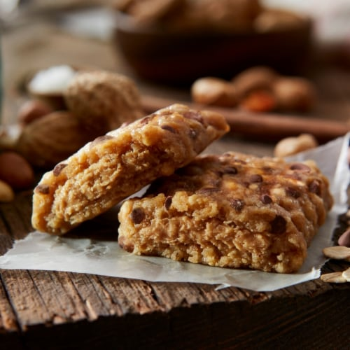 Clif Chocolate Chip & Peanut Butter Nut Butter Bar Perspective: top