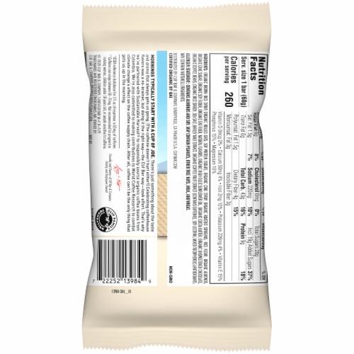 Clif Bar Coffee Collection Vanilla Almond Latte Energy Bar Perspective: top