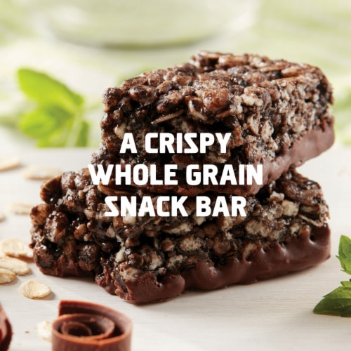 Clif Kid ZBar Protein Chocolate Mint Snack Bars Perspective: top