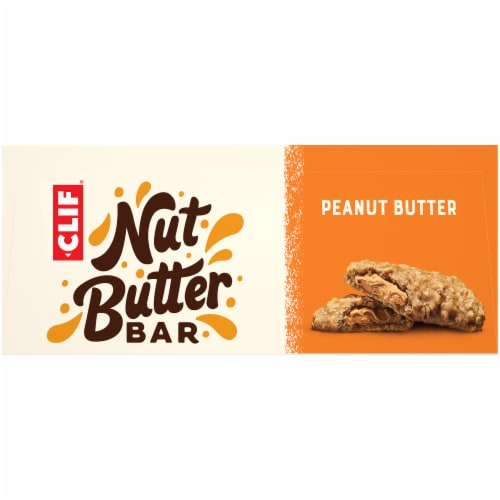 Clif Bar Nut Butter Filled Peanut Butter Energy Bars Perspective: top