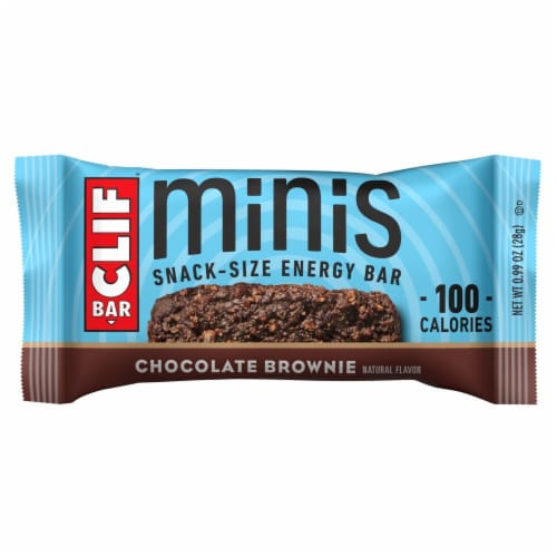 Clif Bar® Minis Chocolate Brownie Energy Bars Perspective: top