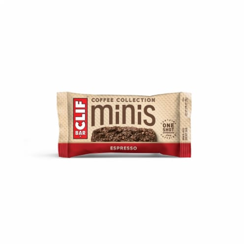 Clif Bar Coffee Collection Espresso Mini Energy Bars Perspective: top