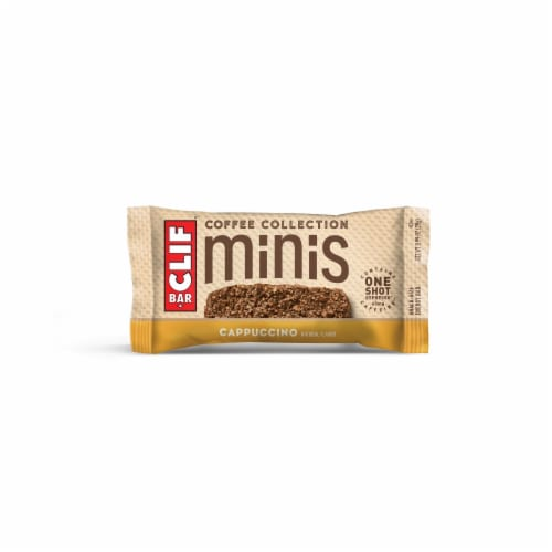 Clif Bar Coffee Collection Cappucino Mini Energy Bars Perspective: top