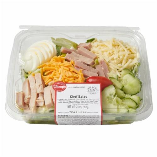 Ukrop's Chef Salad Perspective: top