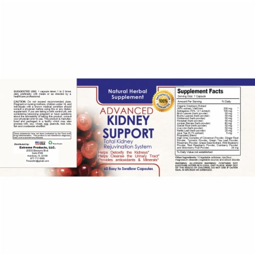 Kidney and Urinary Cleansing Support Perspective: top