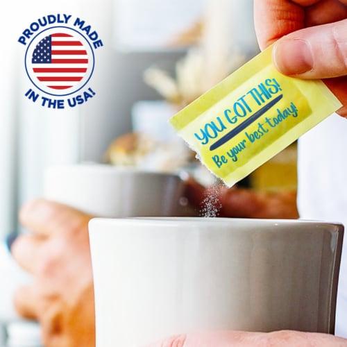 Splenda Zero Calorie Sweetener Packets Perspective: top