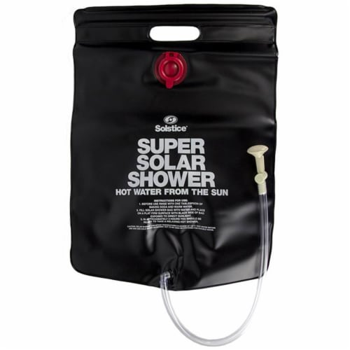 Swimline 3.75 Gallon Super Solar Sun Backpacking Camping Outdoor Shower Perspective: top