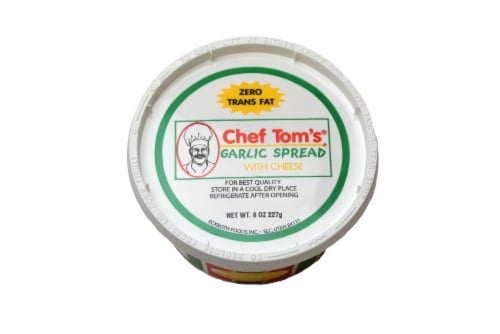 Chef Tom's Garlic Spread Perspective: top
