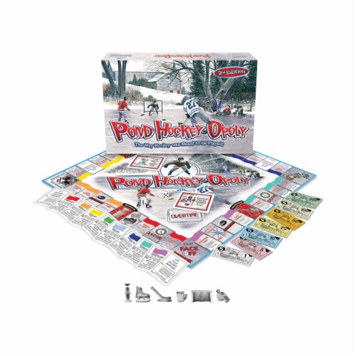 Outset Media® 2nd Edition Pond Hockeyopoly Perspective: top