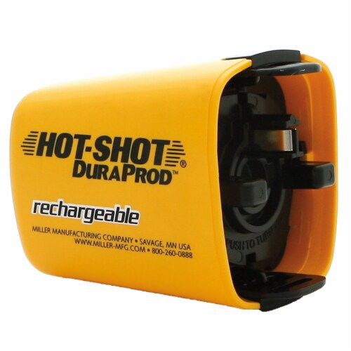Miller Manufacturing Hot Shot DuraProd 4pc Rechargeable Battery Replacement Kit Perspective: top