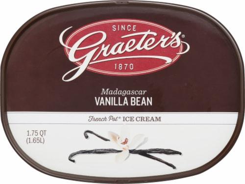Graeter's Madagascar Vanilla Bean Ice Cream Perspective: top