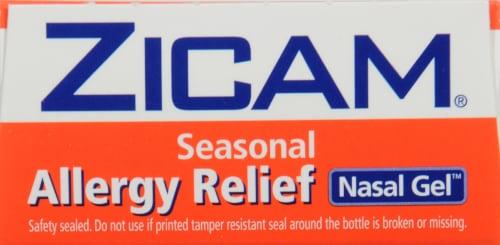 Zicam Seasonal Allergy Relief Non-Drowsy Nasal Gel Perspective: top